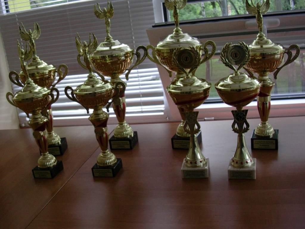 turniej brydża sportowego 2012 - puchary