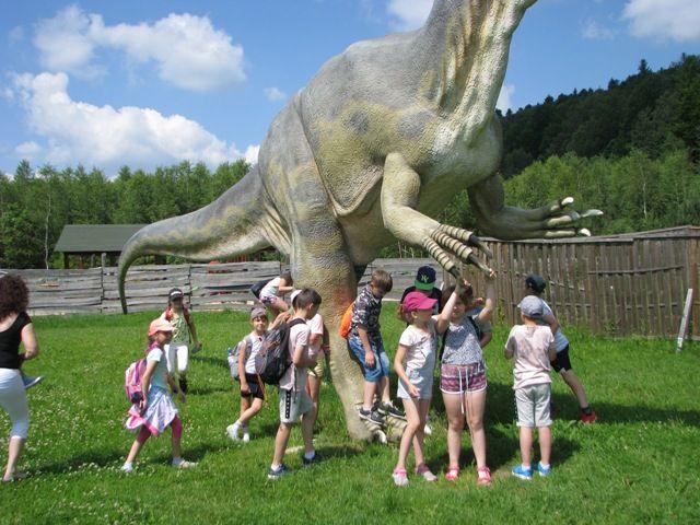 dzień dziecka 2019 - Krasnobród park dinozaurów