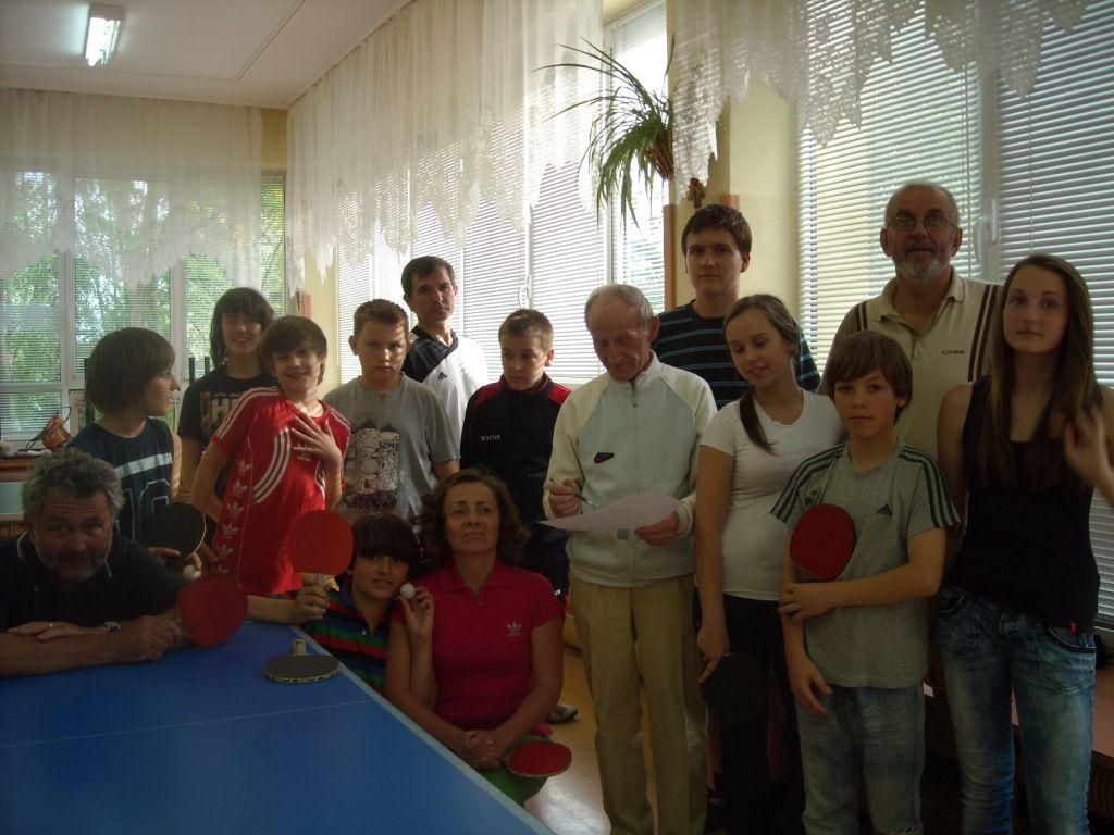 turniej tenisa stołowego 2012
